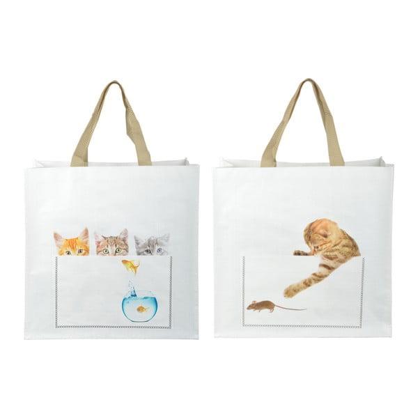 Sada 2 nákupních tašek s motivem koťátek Ego Dekor