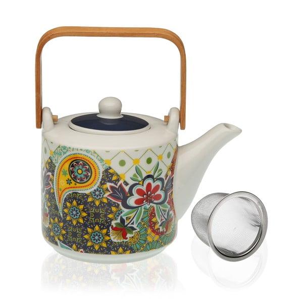 Ceainic din porțelan cu sită pentru ceai Versa Giardino