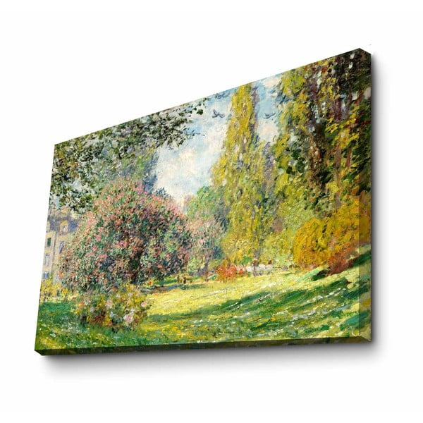 Nástěnná reprodukce na plátně Claude Monet, 100 x 70 cm