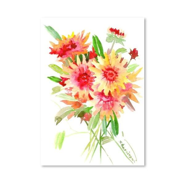 Plakát Flowers in Blanket od Suren Nersisyan