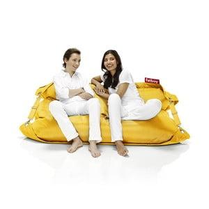 Žlutý sedací vak Fatboy Buggle-up