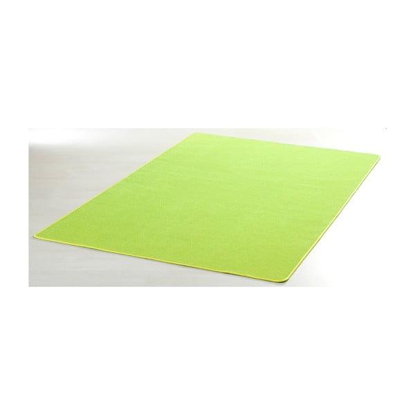 Zelený koberec Nasty, 140x200 cm
