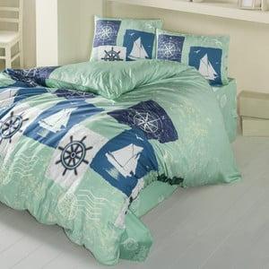 Lenjerie de pat cu cearșaf Atlas, 200 x 220 cm