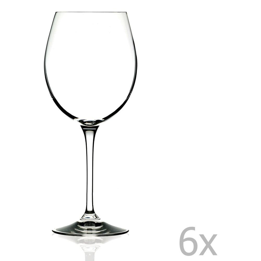 Sada 6 sklenic na víno RCR Cristalleria Italiana Romilda, 650ml