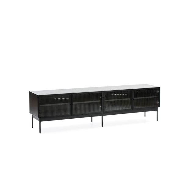 Czarny stolik pod TV Teulat Blur