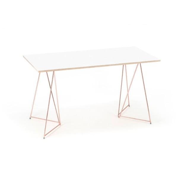 Sada 2 měděných podnoží ke stolu Master & Master Diamond Narrow, 70x55cm