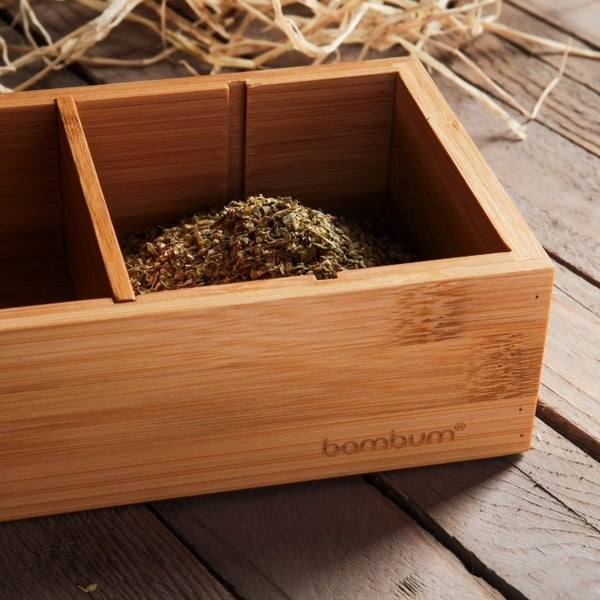 Bambusový organizér Bambum Cassa