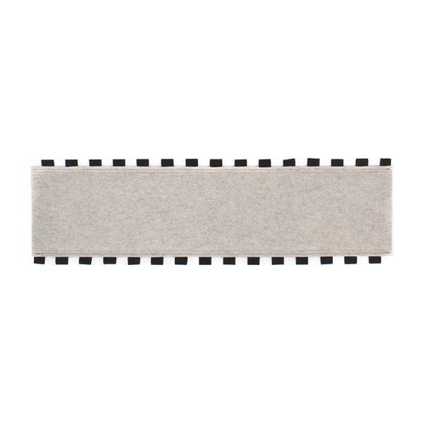 Tapperello White, koberec 120x35 cm
