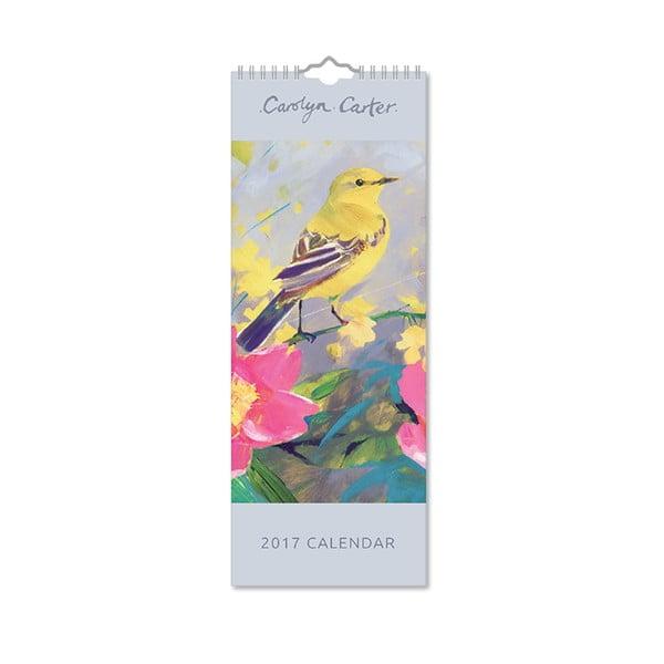 Úzký kalendář Portico Designs Carolyn Carter