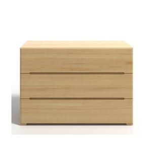 Comodă din lemn de pin cu 3 sertare SKANDICA Sparta