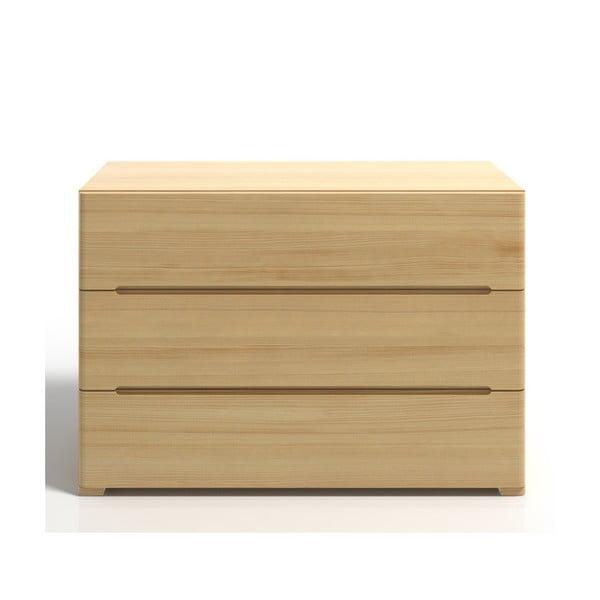 Komoda z borovicového dreva s 3zásuvkami SKANDICA Sparta