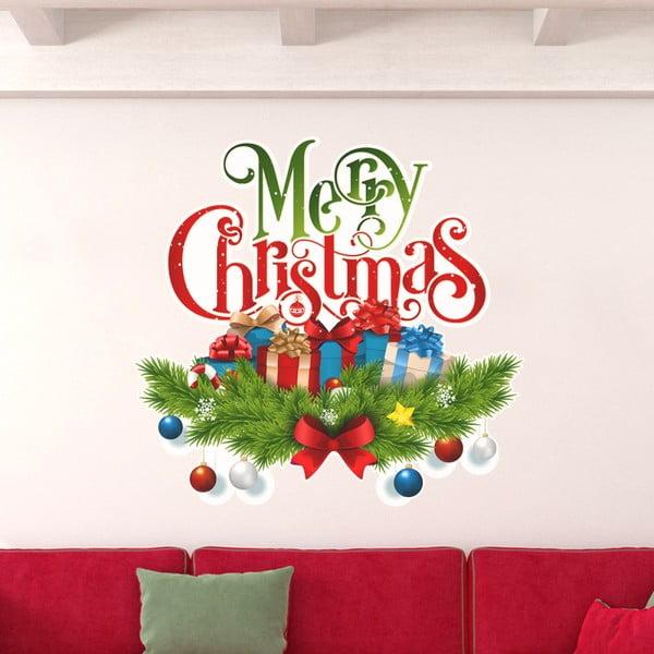 Vianočná samolepka Ambiance Christmas Avec Neige