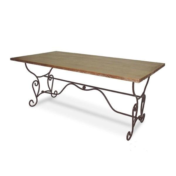 Stůl Iron Wood, 180x90x75 cm