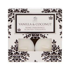 Čajové svíčky Spring Couture 8 ks, aroma vanilka a kokos