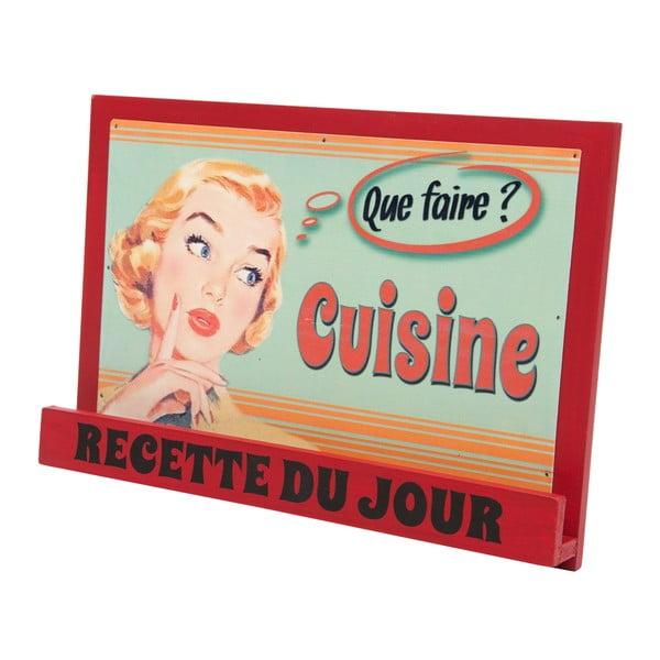Suport carte de bucătărie Antic Line Vintage Cuisine