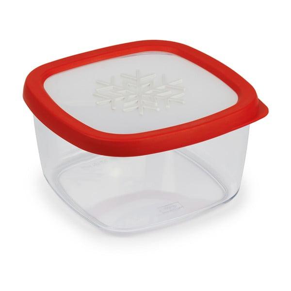 Snowflake piros élelmiszer tároló, 1,5l - Snips