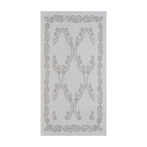Béžový odolný koberec Vitaus Primrose, 140x200cm