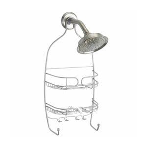 Závěsný organizér stříbrné barvy do sprchy iDesign Neo
