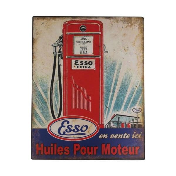 Kovová cedule Gas Pump