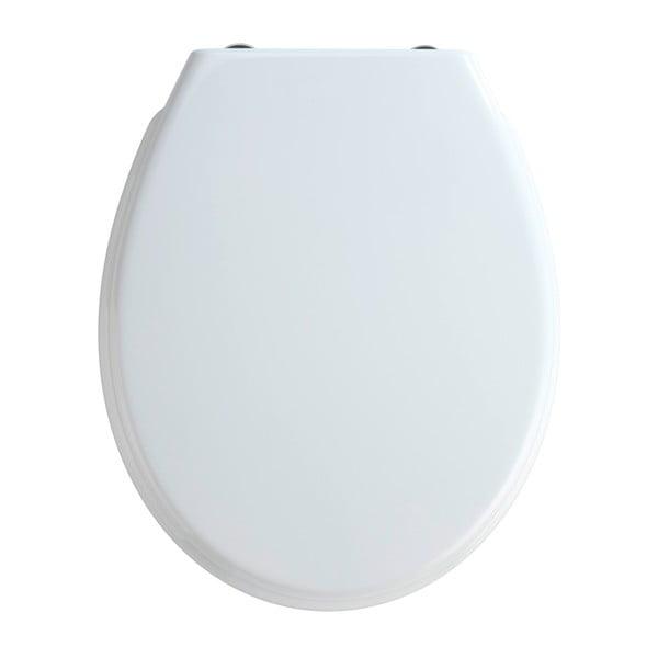 Bilbao fehér WC-ülőke, 44,5 x 37 cm - Wenko