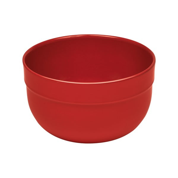 Bol din ceramică pentru salată Emile Henry, ⌀ 17,5 cm, roșu