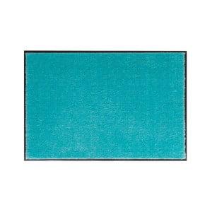 Tyrkysová rohožka Hanse Home Soft and Clean, 39 x 58 cm