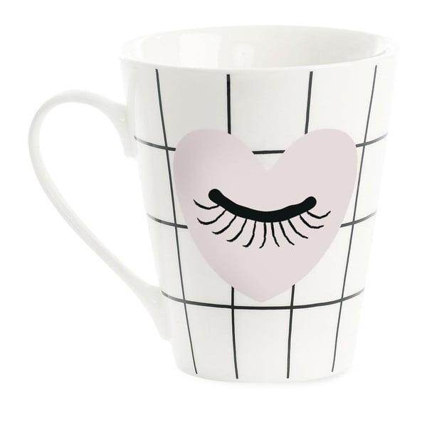 Porcelánový hrnek Miss Étoile Coffee Heart and Eye