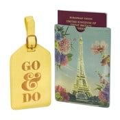 Set etichetă pentru valiză și husă pașaport Rendezvous