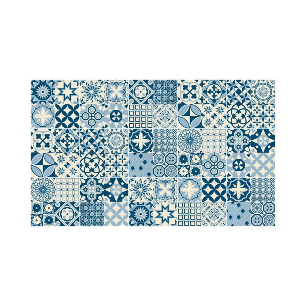 Sada 60 nástěnných samolepek Ambiance Wall Decal Cement Tiles Riana, 10 x 10 cm