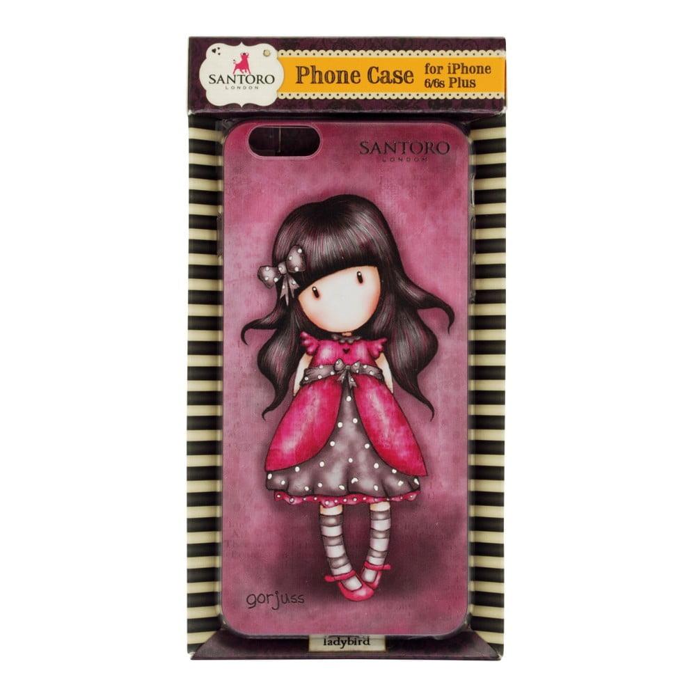 ... Červený obal na iPhone 6 Plus  6S Plus Santoro London Lady Bird ... 8a4b14a079c