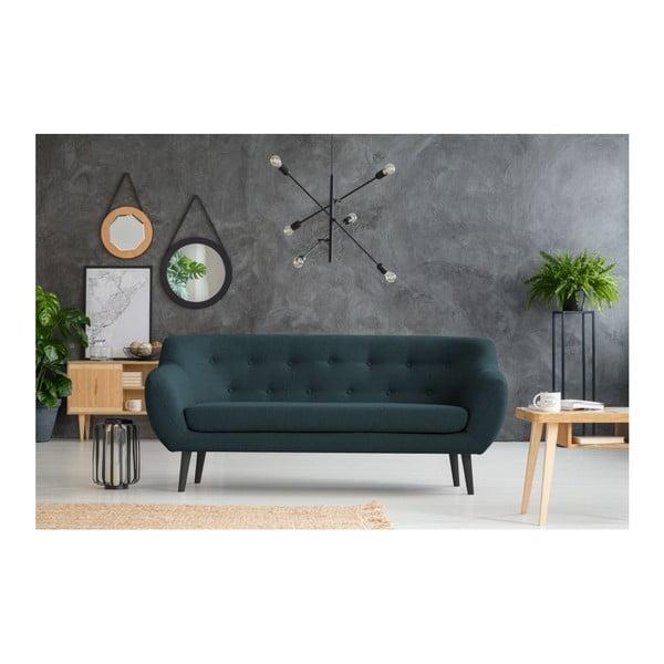 Canapea cu 3 locuri Mazzini Sofas Piemont, turcoaz