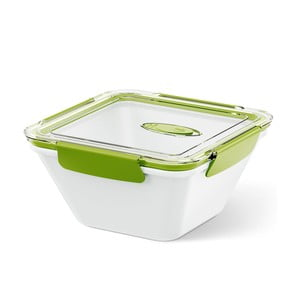 Box na jídlo Bento Box white/green, 1.5 l