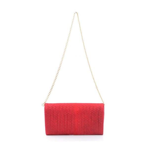Kožená kabelka Yaelle, červená