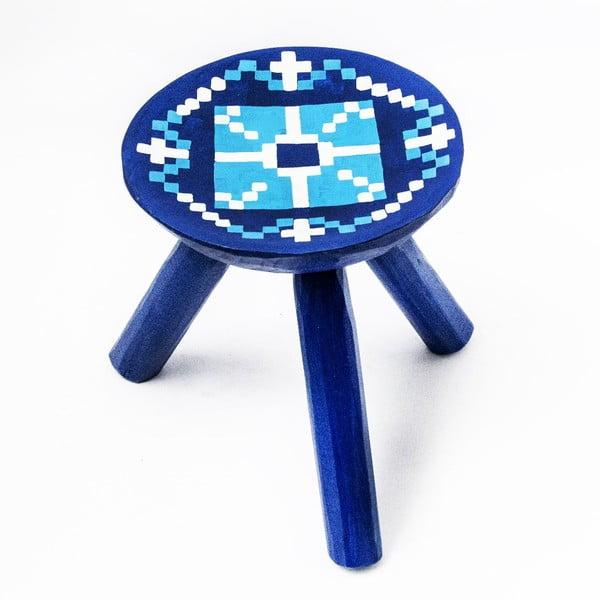 Ručně malovaná stolička Vistea, 28 cm