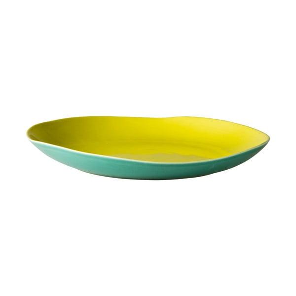 Keramický talíř Green Jade