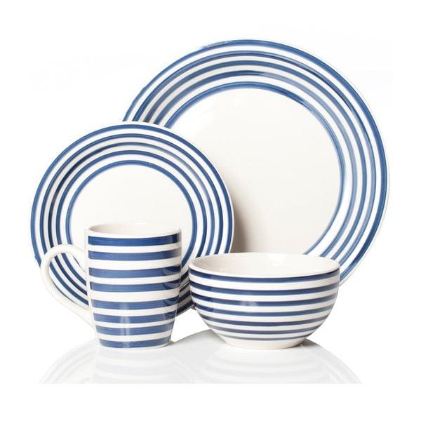 Set nádobí Portabello Blue, 16 ks