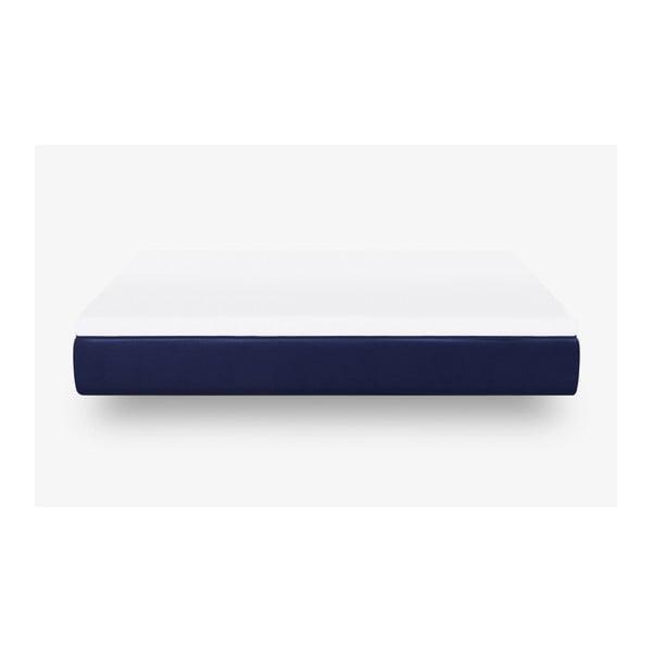 Tmavě modrá pěnová matrace muun Default, 180 x 200 cm