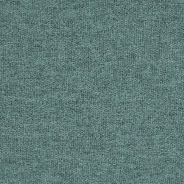 Canapea 3 locuri cu picioare negre Vivonia Kennet, albastru