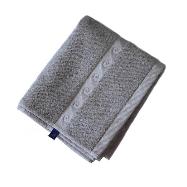 Ručník Wave 50x30, šedý