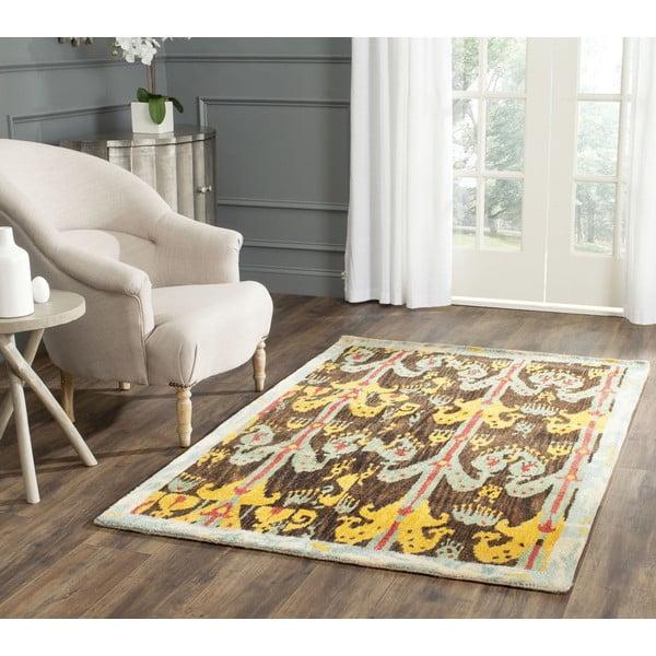 Vlněný koberec Hamish Ikat, 121x182 cm