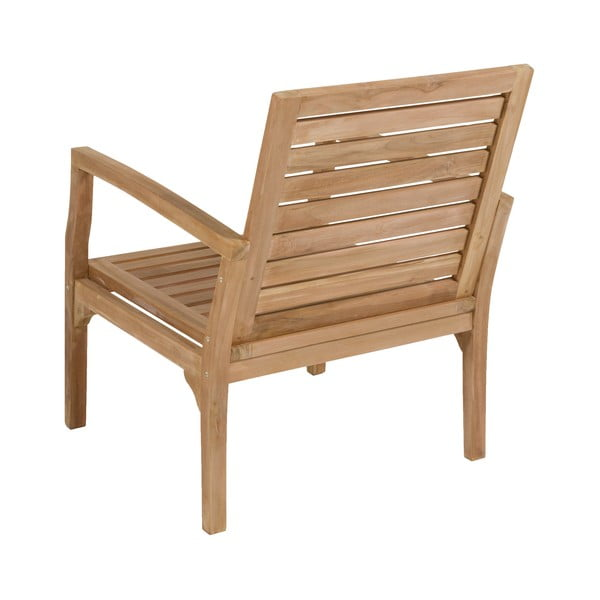 Set mobilier grădină din lemn de tec Santiago Pons Ivory
