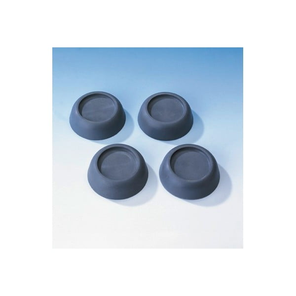 Set 4 piciorușe antivibrații, pentru mașina de spalat, Wenko Vibration Damper