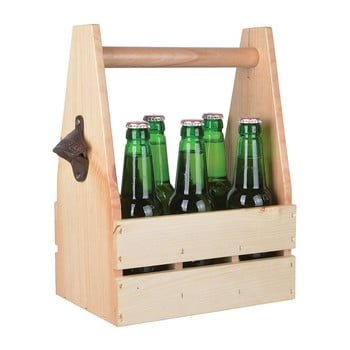 Suport din lemn pentru sticle cu deschizător, Ego Dekor de la Ego Dekor