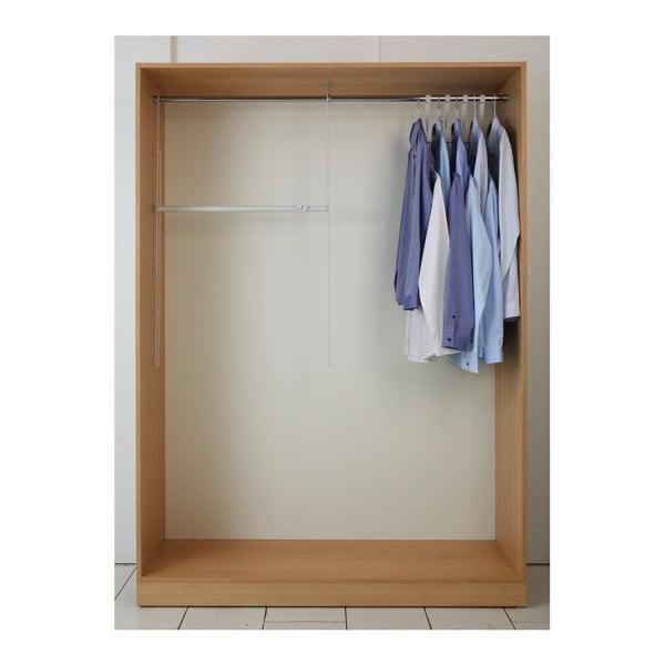 Set 2 scări și tijă extensibilă pentru haine Compactor