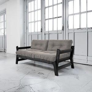 Rozkládací pohovka Karup Step Black/Granite Grey