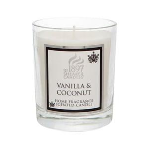 Vonná svíčka Coloured 30 hodin hoření, aroma vanilka a kokos