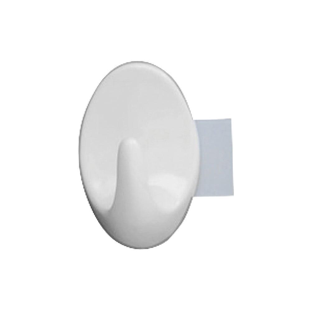 Sada 2 nástěnných háčků Wenko Strip It Maxi Hooks White