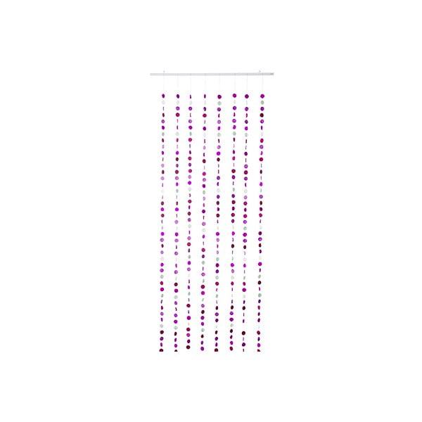 Girlandový závěs Curtain Pink