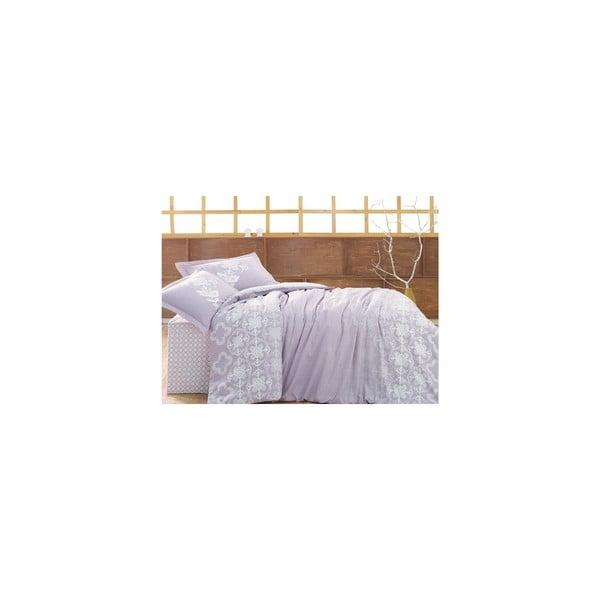 Povlečení s prostěradlem Clover Lace, 200x220 cm