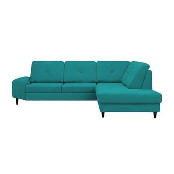 Canapea colţar Windsor & Co Sofas Beta, partea dreaptă, turcoaz de la Windsor & Co Sofas